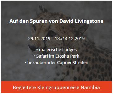 Albatros on Tour - begleitete Kleingruppenreise Namibia