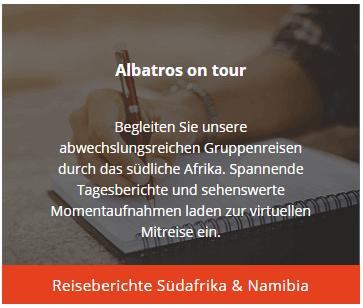 Albatros on Tour - Reisebericht Südafrika & Namibia