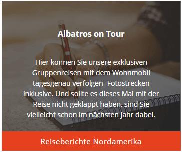 Albatros on Tour - Reisebericht Nordamerika