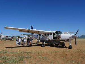 Am Seronera Airstrip - Kleingruppenreise Tansania