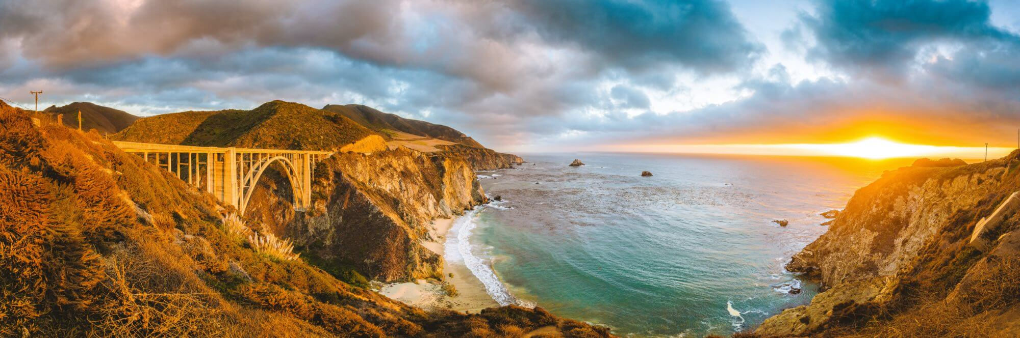 Bixby Bridge California USA