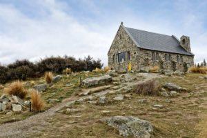 Lake Tekapo Kirche Neuseeland