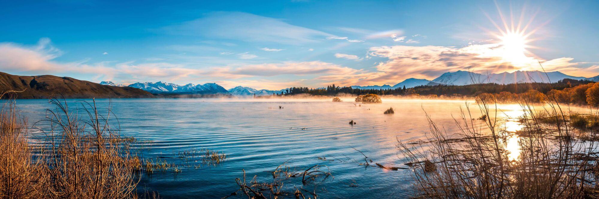 Lake Tekapo Neuseeland Reise